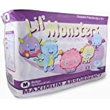 Rearz - Lil' Monsters - V2.0 - Adult Diapers (14 Pack) (Medium)