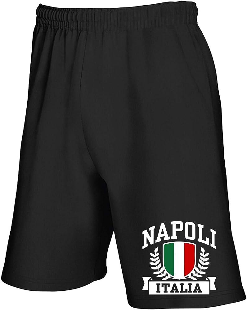 Speed Shirt TSTEM0195 Napoli Italia - Pantalón Corto de chándal ...