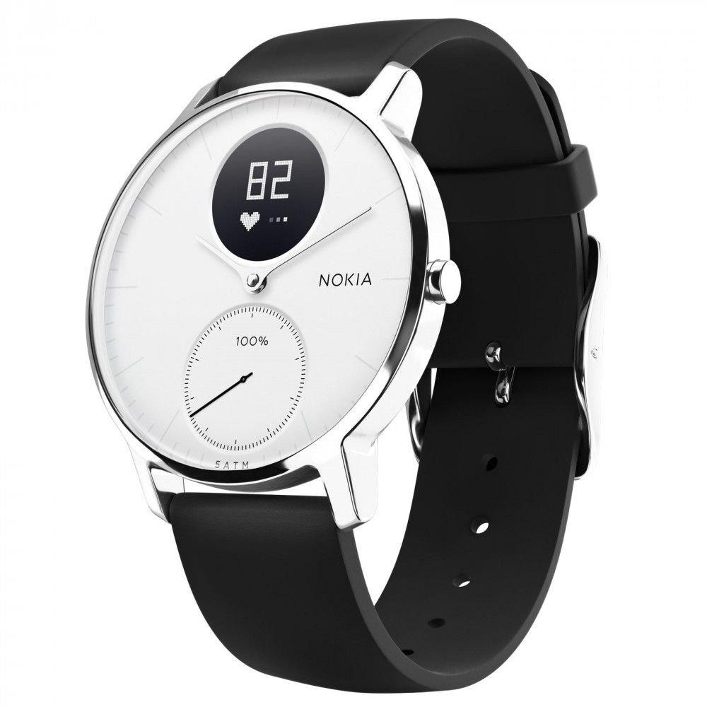 Withings/Nokia Steel HR - Montre connectée hybride - Suivi de lactivité et du rythme cardiaque: Amazon.fr: Sports et Loisirs