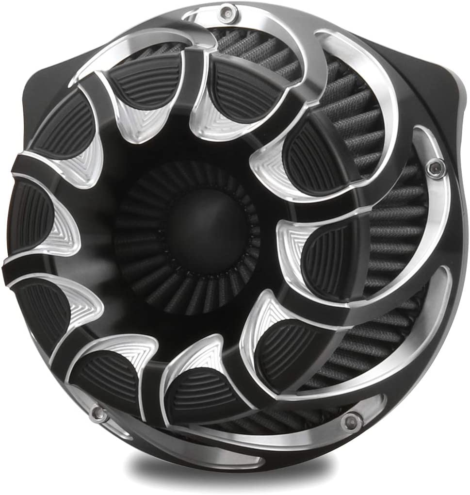 Chromed CNC Max 82% Surprise price OFF edge cut air intakes FL touring For Harley 2017-2020