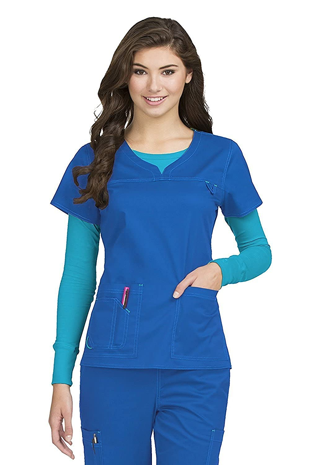 Med Couture Womens Sport Neck Line Image 1