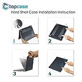 TOP CASE - Rubberized Matte Hard Case Cover