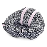 Robolife Cute Portable Soft Sofa Floor Seat Cushion Plush Toy for Kids (Leopard)
