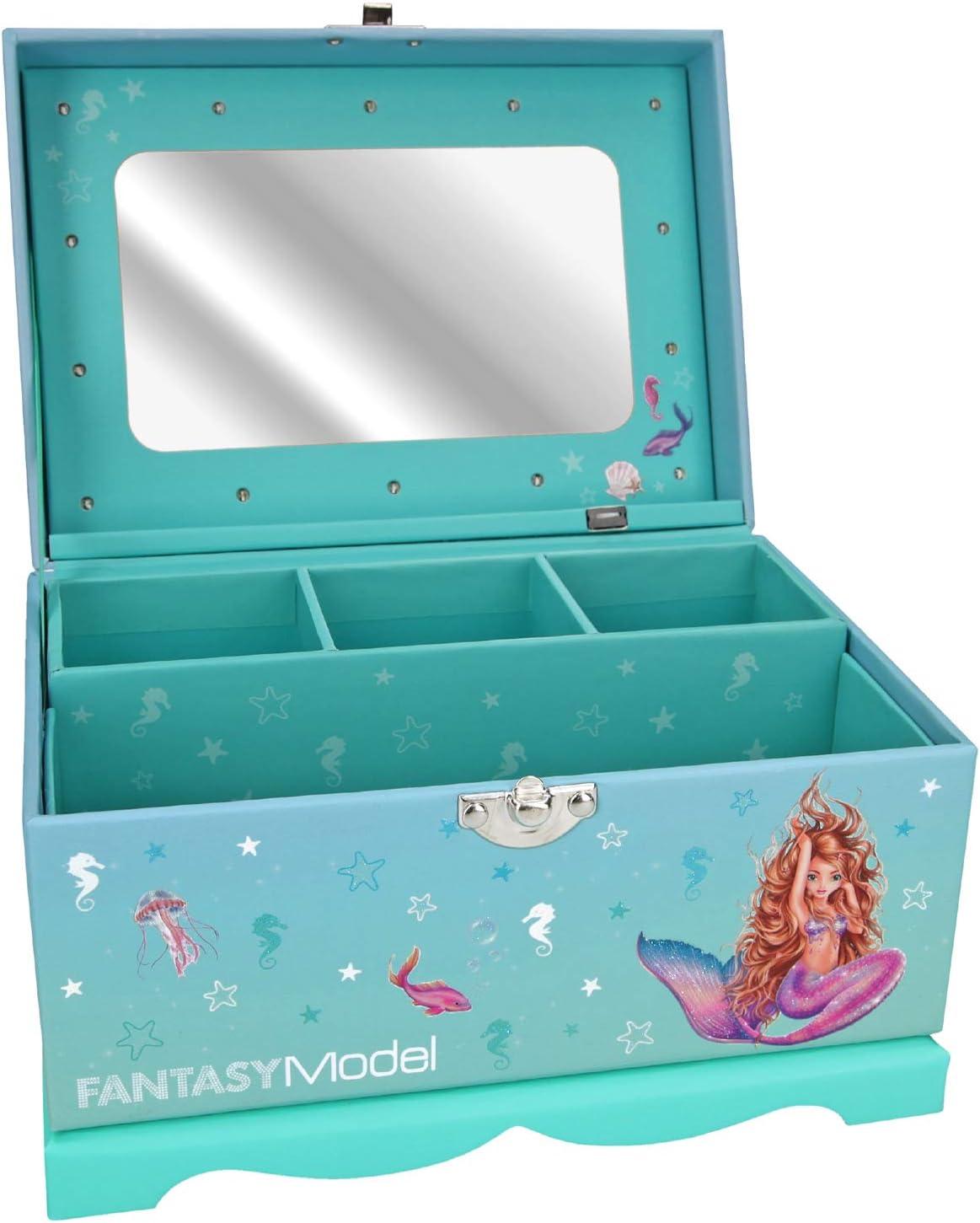 Portagioie con Luce Depesche 10948 FANTASYModel Mermaid ca 18,5 x 13,5 x 14 cm