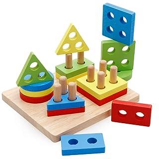 Giocattoli per lo sviluppo dell'apprendimento prec Buoni giocattoli mentali / in legno per bambini La capacità di assemblare l'essere celeste assemblato nell'Illuminazione Rompicapo giocattolo educati