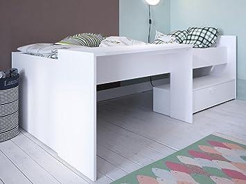 Kombi-Bett Schreibtisch Bettgestell Einzelbett Bettrahmen ...