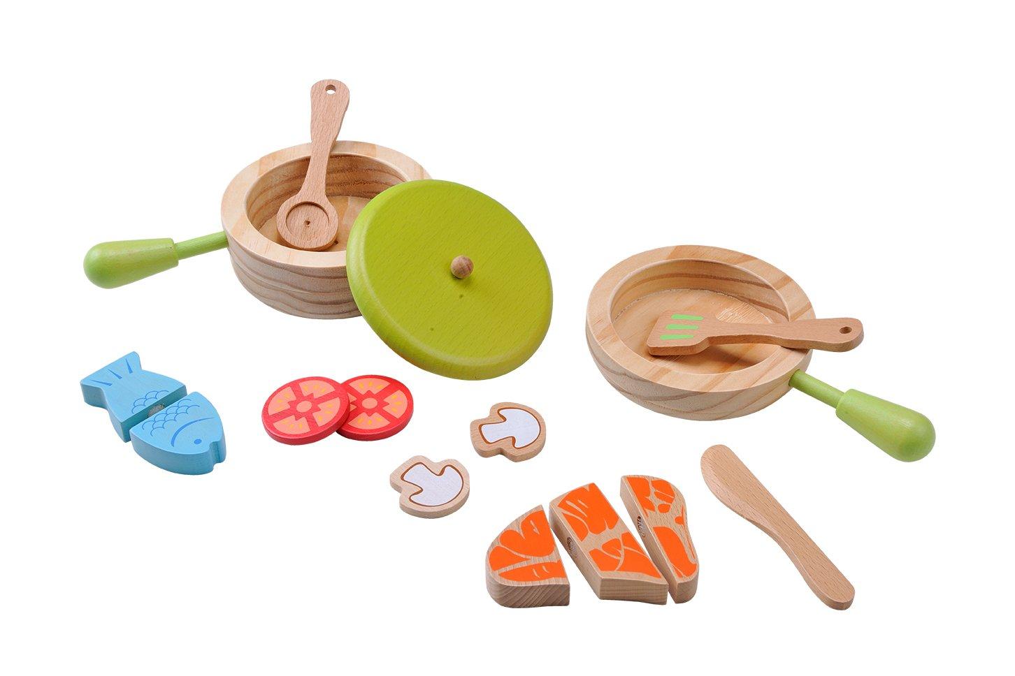 EverEarth - Juego de cazuela y sartén (EE33718): Amazon.es: Juguetes y juegos