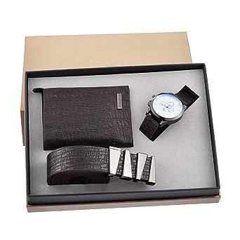 Souarts Ensemble Coffret Cadeau Montre pour Homme (Style 4)  Amazon ... 14064448437