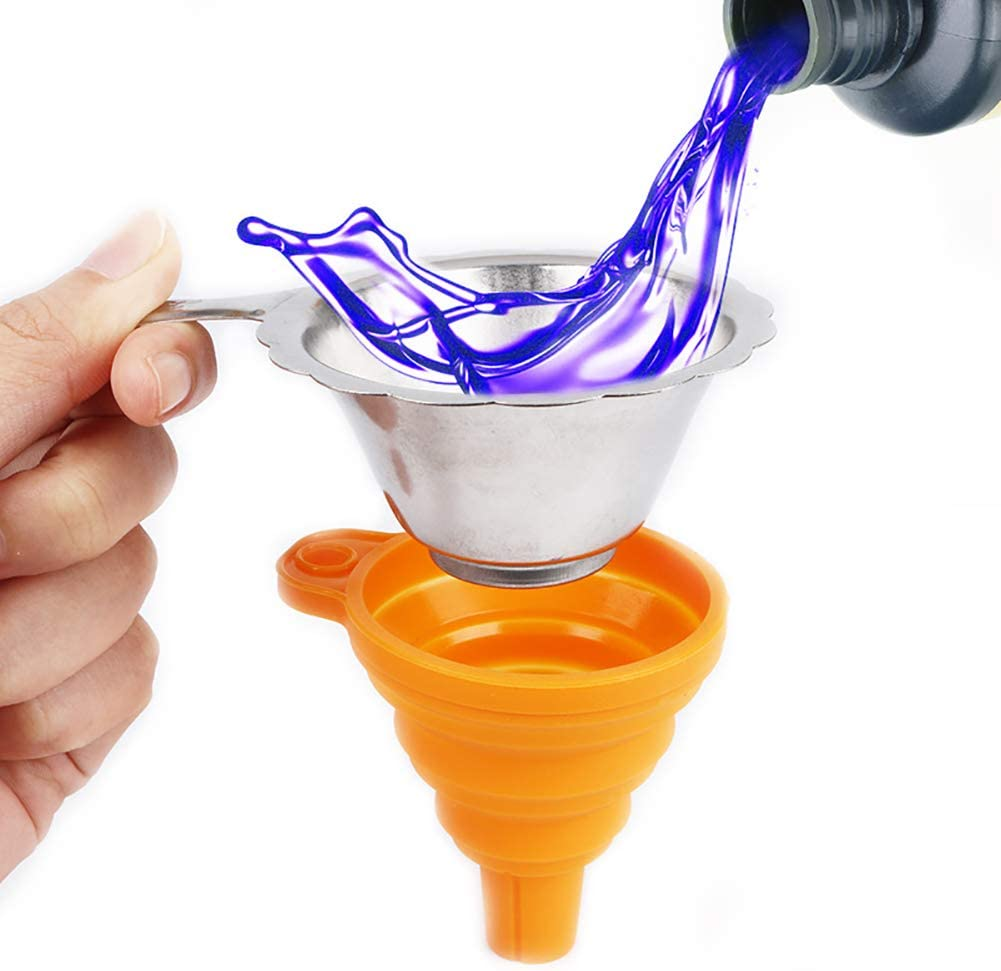 3D Printer Accessories Stainless Steel UV Resin Filter Cup Funnel