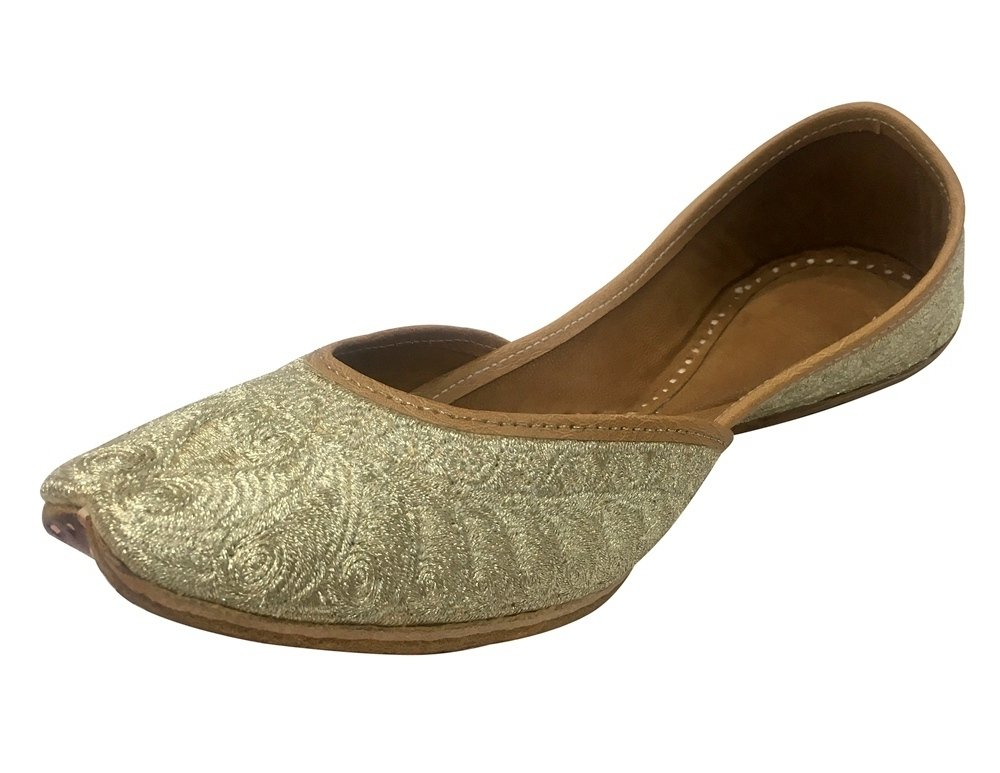 Step n Style Indian Punjabi Jutti Bridal Shoes Khussa Shoes Mojari Ehnic Indian Shoe