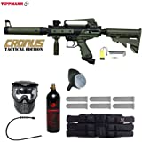 MAddog Tippmann Cronus Tactical Titanium Paintball Gun Package