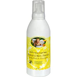 Earth Mama Angel Baby Shampoo and Body Wash - Organic Unscented - 34 oz Toys Christmas Gift