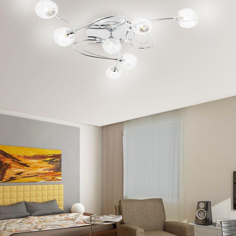 Led Design Lustre De Plafond Plafonnier Lampe Luminaire Pour Le