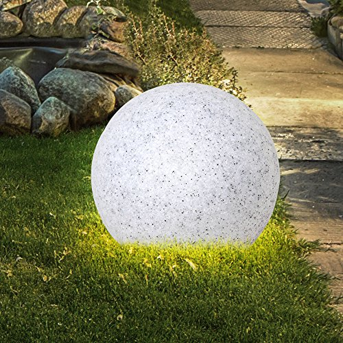 Boule lumineuse LED 6,5 watts lampe DEL luminaire extérieur jardin ...