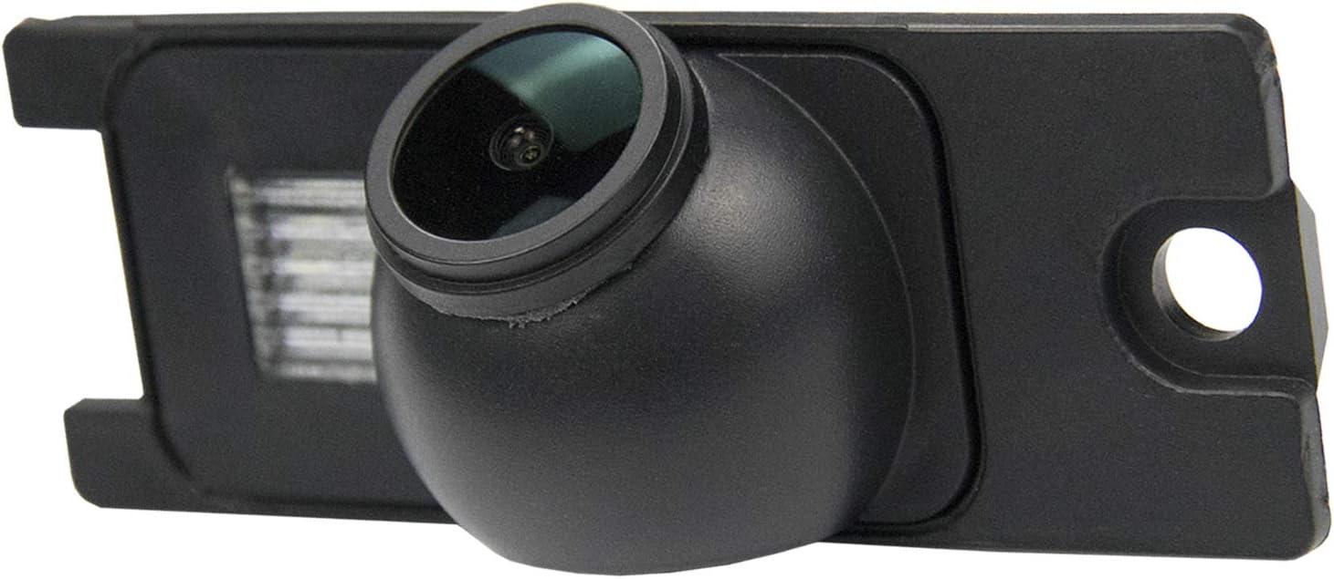 B= Screw +Screw Style HD 1280x720p Reversing Camera for Volvo V40 V50 V60 V70 V90 XC40 XC60 XC70 XC90 S40 S60 S70 S80L S90 C30 C70 C90 Rear View Backup Camera Waterproof Night Vision