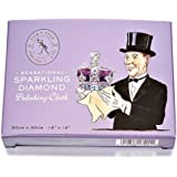 Town Talk Jewellery Sensational Sparkling Diamond Polishing Cloth Cleaner Cleaning Solution Care