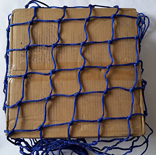 1x1m, Blue MIXTRADER Cargo Cover Net Netting Heavy Duty Pond Child Safety Pool Protector Horse Feeder 100x100mm Mesh 2mm String