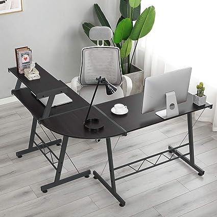 Eckschreibtisch Schreibtisch PC Arbeitstisch Bürotisch Computer Tisch