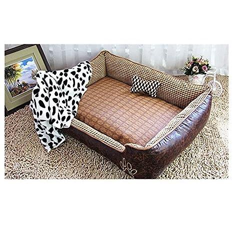 Cama para perro de World 9.99 Mall, cama suave para mascotas, Vintage, cueva