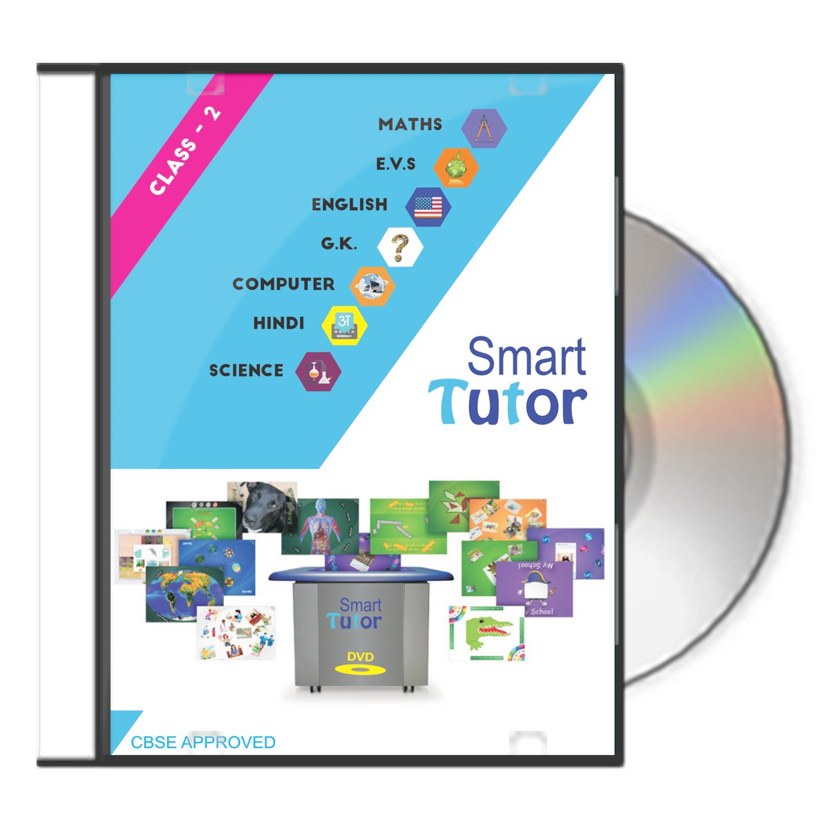 Smart Tutor Class: 2 - All Subject Offline solution Covering Maths ...