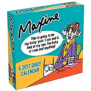 2017 Maxine Funny Cranky Humor Desktop or Wall Daily Cartoon Comic Calendar