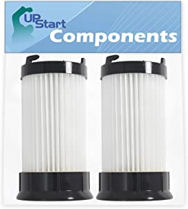 2-Pack DCF-4 DCF-18 Filter Replacement for Eureka Part Number 18505, 3690, 62132, 63073 & GE Part Number 61700, 61770, 28608-1 Vacuum Cleaner - Compatible with Eureka DCF-4 DCF-18 HEPA Dust Cup Filter