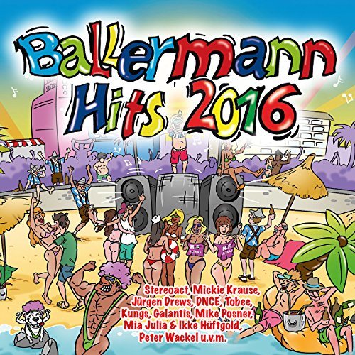 VA - Ballermann Hits 2016 (2016) [FLAC] Download
