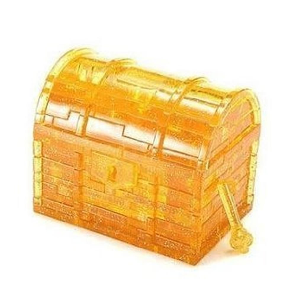 Generic Treasure Box Gold 3D Crystal Jigsaw Puzzle