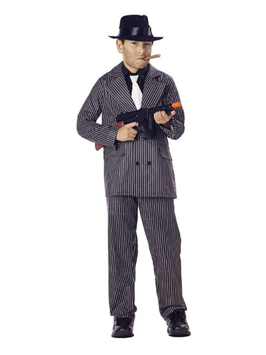 Amazon.com: Traje de Gangster Niño Traje: Toys & Games