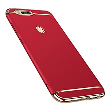 Funda Xiaomi Mi A1,Ultra Delgado Luxury 3 en 1 Carcasa Desmontable Anti-Scratch Mate Hard Protectora Case Cover Funda para Xiaomi Mi A1/Xiaomi Mi ...