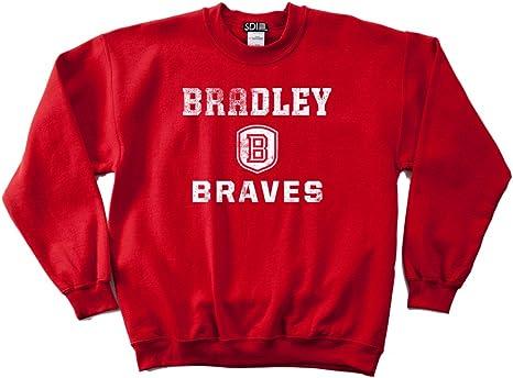 NCAA Alabama Birmingham Blazers 50//50 Blended 8-Ounce Vintage Arch Crewneck Sweatshirt