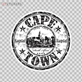 Decoration Vinyl Sticker Cape Town Africa Memorabilia Travel Souvenir Decoration Motorbike D217 RWA96