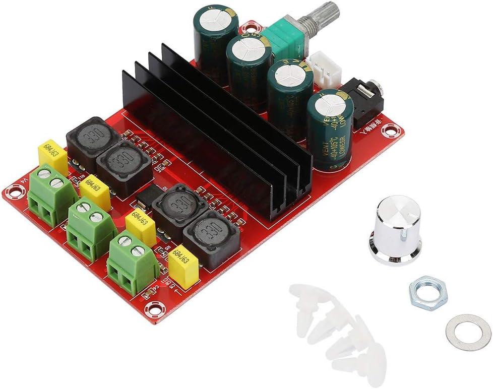 DC12-24V Amplificador Junta de Alta Potencia 2 * 100W Amplificador digital de doble canal Junta de receptor de audio Amplificador estéreo