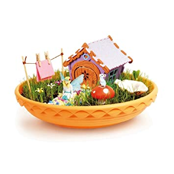 Enchanted Fairy Garden Starter Kit With How To Instructions