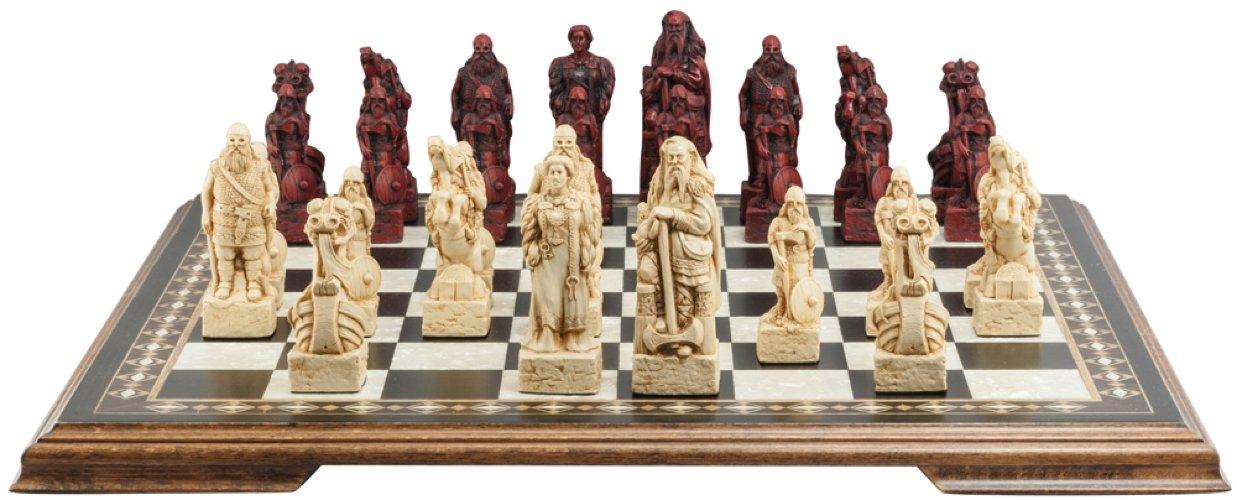 最適な価格 Vikingテーマチェスセット – 4.5インチ – – でプレゼンテーションボックス – アイボリーand ハンドメイドin UK – – アイボリーand Burgundy B01M4LCTBF, ラブリービートル:932898a0 --- cygne.mdxdemo.com