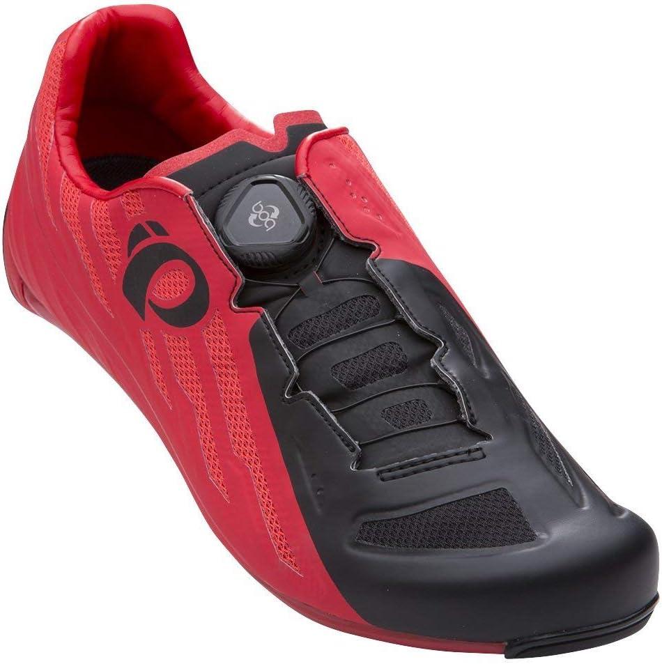 PEARL IZUMI Race Road V5 Zapatillas Ciclismo, Hombre, Rojo/Negro: Amazon.es: Ropa y accesorios