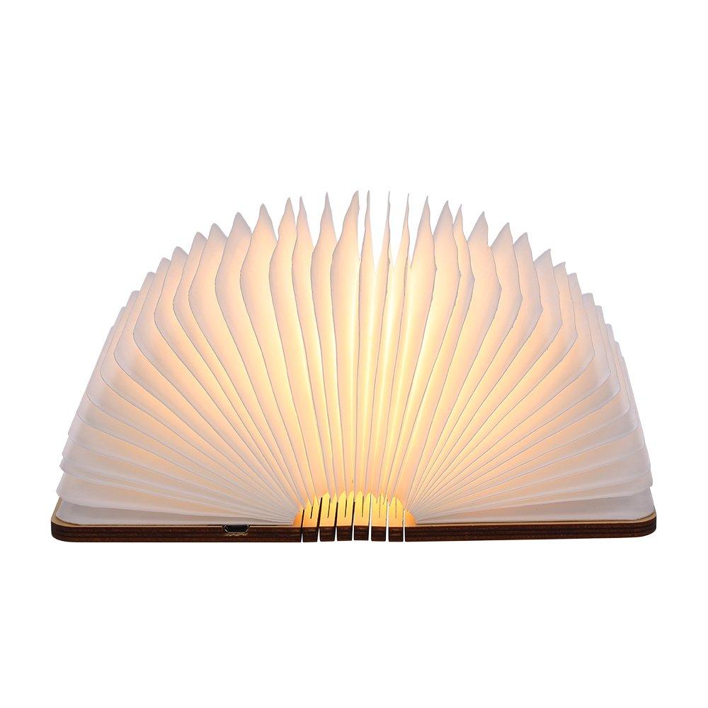 Lampada LED USB forma libro Tomshine
