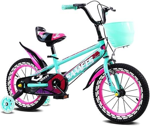 QXMEI Bicicleta Infantil con Estructura De Acero con Alto ...