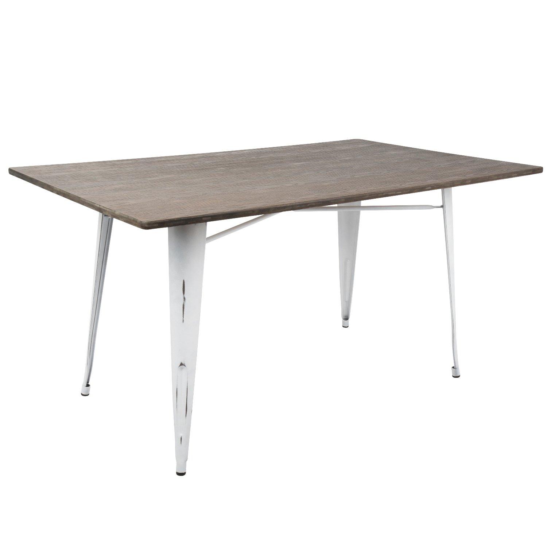 WOYBR DT-6036OR VW+E Wood, Metal Oregon Rectange Table