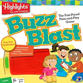 MasterPieces Highlights Buzz Blast Card Game