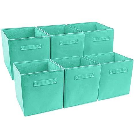Amazon.com: Anya Nana - Juego de 6 cubos de almacenamiento ...