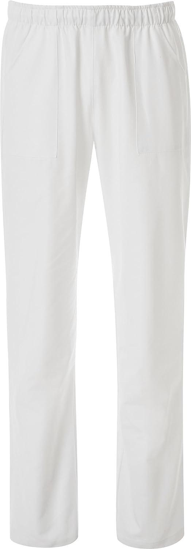 Jobline Hose mit Kordelzug und Weissen Taschen; 100% Baumwolle