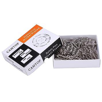 Amazon.com: 300PCS Safety Pins Size 2 Sewing Pins for Quilting and ... : safety pins for quilting - Adamdwight.com