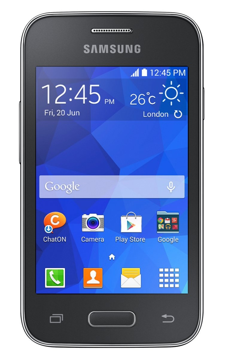 Samsung G130 Galaxy Young 2 Sim Free Smartphone Charcoal Black