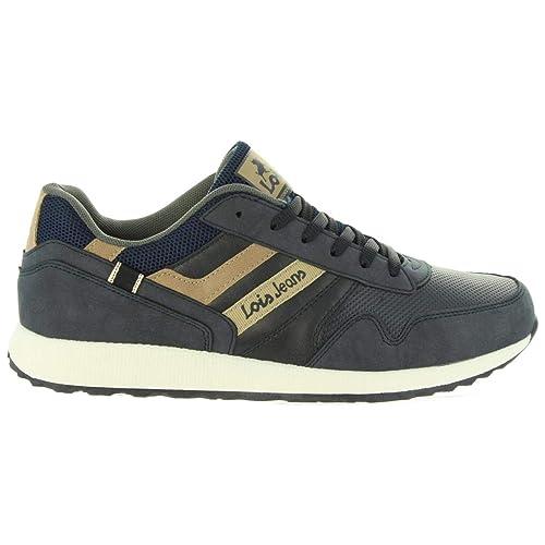 d32c9a34b4 Lois 84741 Deportivo Cordones Hombre Azul 43  Amazon.es  Zapatos y  complementos