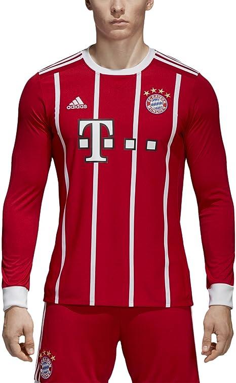 adidas FC Bayern Munich Home Long Sleeve Jersey [FCBTRU] (S