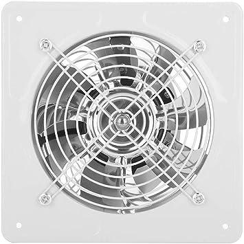 Ventilador de escape Alta eficiencia de ventilación de aire Bajo ruido Durable Ventilador de escape montado en la ...