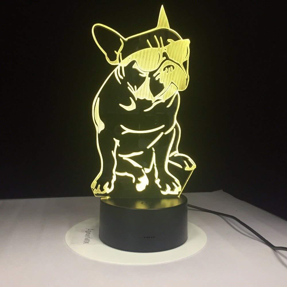 DIAODARUBA Use Gafas De Sol para Perros Lámpara 3D 7 Lámparas De ...