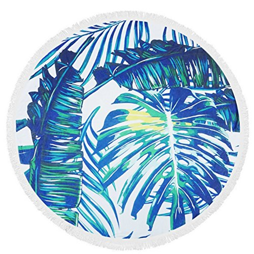 Round Towel (Tropical Beach Towels)