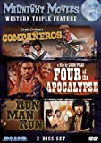 Midnight Movies Vol 2: Western Triple Feature (Companeros/Four of the Apocalypse/Run Man Run) by Blue Underground by Luico Fulci, Sergio Sollima Sergio Corbucci